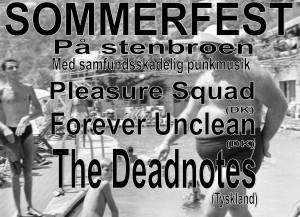 The Deadnotes(D)/Forever Unclean/Pleasure Squad @ Råhuset   København   Danmark
